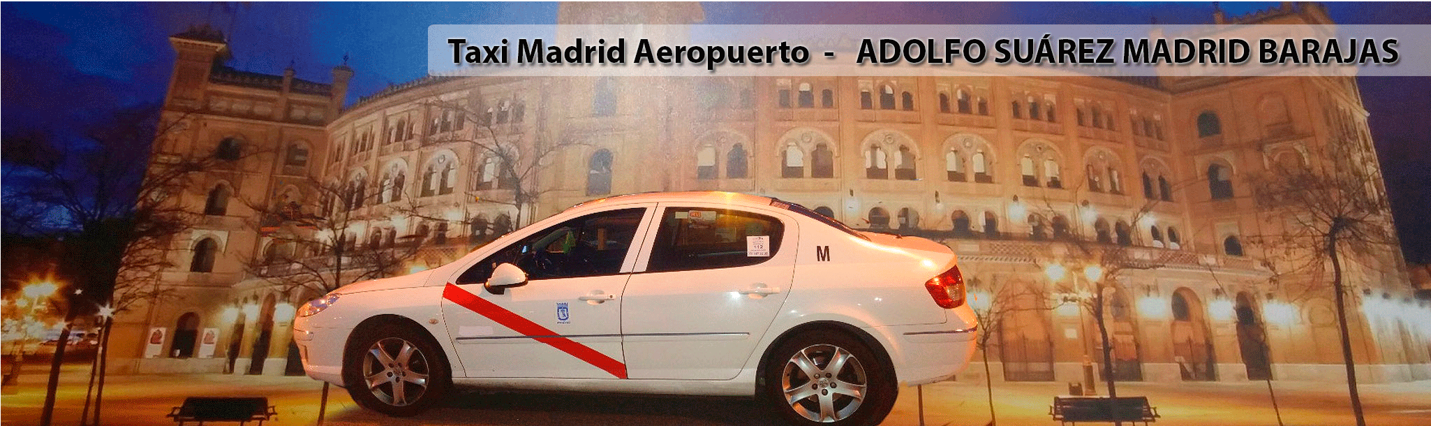 Transporte en Taxi Madrid