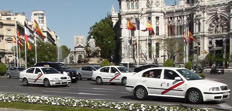 Taxis oficiales Madrid